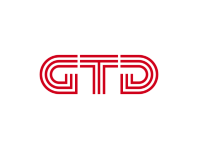 Gtd transport trade trademark mark logotype logodesign logo branding brand
