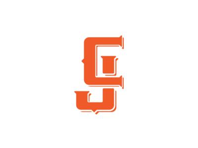 CJ monogram cj monogram mark logy type logotype branding logo brand
