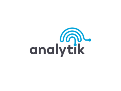 Analytik it blue analytic brain logo type logo design logo branding brand