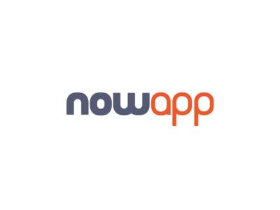 Nowapp app icon app icon logo design logo banding brand