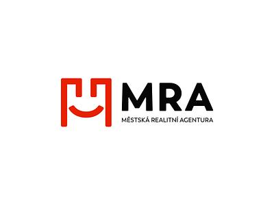 MRA city real estate logotype branding brand logo