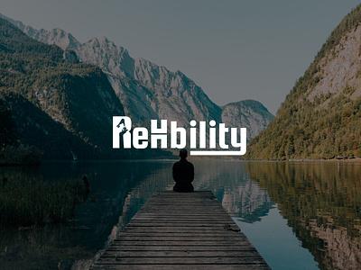 ReHability - Minimalist Logo Design branding logo iconic flat 2d concept minimalist vector art design