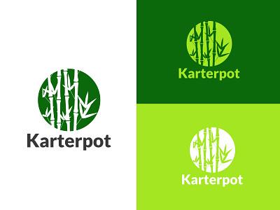 Karterpot - Minimalist Logo Design ui typography illustration branding art iconic flat concept vector design logo minimalist