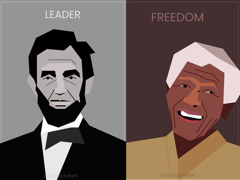 LEGENDS famous people iconic concept 2d flat heros world legengds vector illustration art
