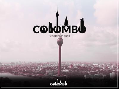 COLOMBO - Minimalist Sri Lanka colombo logo srilankan iconic concept minimalist art design illustration