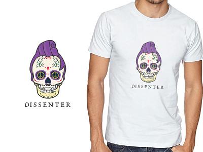 DESSENTER - T-shirt print Design mexico skull art mascot design illustration art tshirtdesign print tshirt illustration