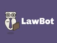 LawBot logo on purple