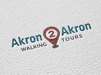 Akron2Akron logo mockup