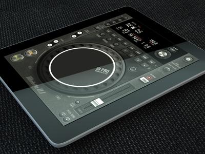 Tablet/Phone User Interface Professional Set V. 5 Mobile DJ