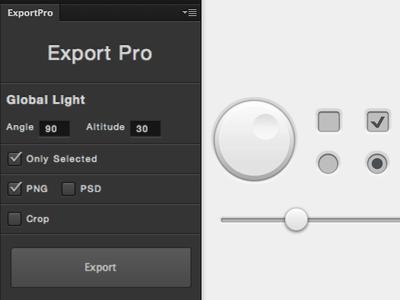 ExportPro Photoshop Plugin