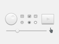 White Little UI freebie for Export Pro
