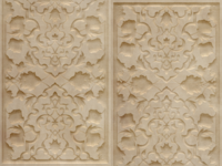 Carved Wood Panel Freebie
