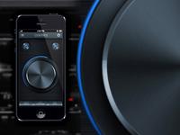 Pioneer App User Interface PSD
