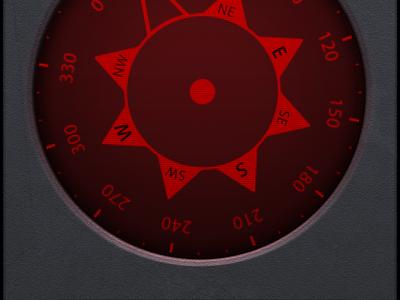 Compass .psd freebie display effect free interface photoshop plastic psd screen texture ui user ux