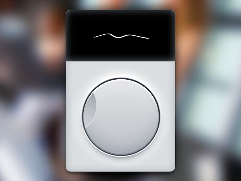 Wave Toy Freebie (PSD + HTML + JS) toy freebie javascript css html psd dial knob wheel