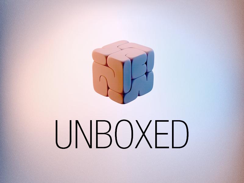 Unboxed brain boxed box color unboxed