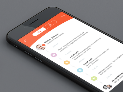 Health Monitoring APP - Teaser Screen ui mobile ios weight fit doctor chat monitoring health app