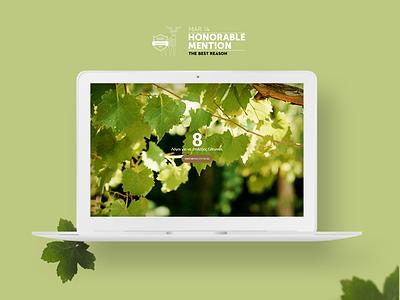 The Best Rreason wine vintage concept product design website awarded brand design ui ux awwwards