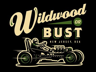 trog classic vintage retro motorcycle speed sand new jersey wildwood racing car hot rod