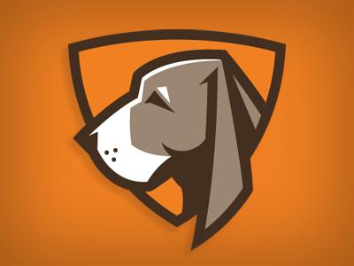 hounds lacrosse hounds dog logo vector lacrosse athletics sports