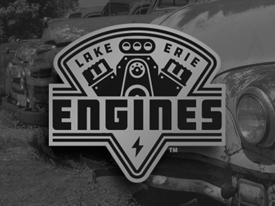 lake erie engines vintage retro truck motor garage hot rod car engine
