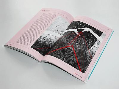 Press Illustration   2017 linear graphic magazine znak editorial illustration polish magazine press illustration