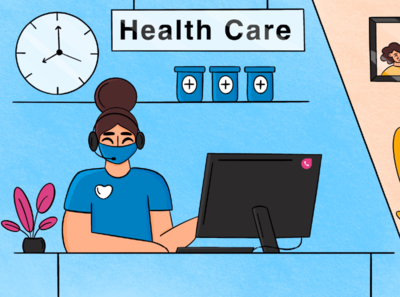 How to leverage the phone system to improve patient engagement phone hospital virtual health care call phone system freshcaller freshworks photoshop minimal illustration design vector dribbble