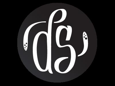 Personal lockup.  WIP typography illustration logo