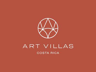 Art Villas – Identity brand identity design brand agency luxury logo luxury brand logo design logo system hospitality luxury premium brand identity design identity minimal branding