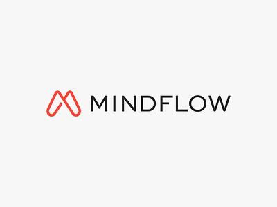 Mindflow – Brand Refresh brand agency vector startup branding brand design logo branding identity minimal