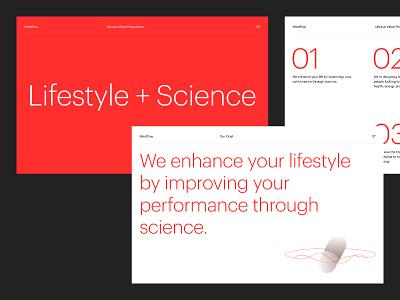 Mindflow – Brand Refresh supplements lifestyle clean minimalistic guidelines startup branding brand identity branding agency identity branding minimal mindflow