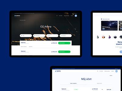 Tyketo – Website webdesign uiuxdesign landingpage search event branding brand agency platform event uiux minimal
