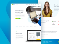 Works - landing page