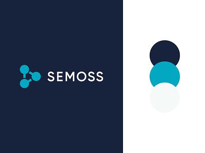 Semoss - Branding logo brand minimal logo logo design analytics data startup branding startup tech brand designer identity designer identity branding minimal