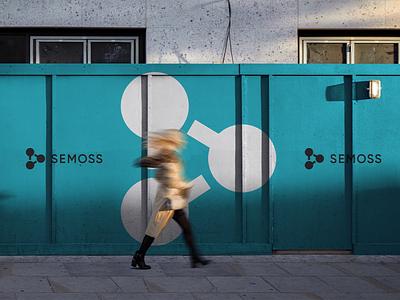 Semoss – Brand Identity logodesigner minimal logodesign logo startup branding tech brand designer branding agency brand identity brand design identity branding analytics semoss