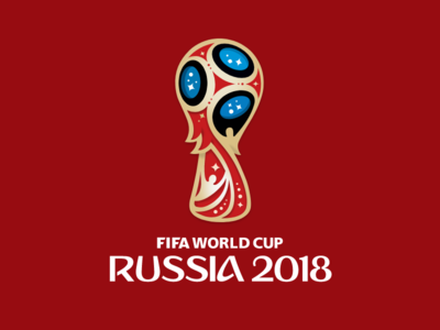 Fifa World Cup 2018 logo in vector gravit designer illustration vector logo russia 2018 cup world fifa
