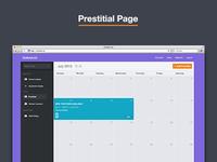 Prestitial Page