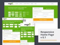 Responsive Homepage v 0.1