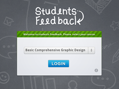 Drop Down Menu ✔ home page button drop down menu gui students feedback green cross bar web app ui ux designer welcome screen login doodle students feedback