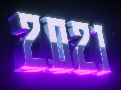 2021 blender3d typography blender b3d 2021