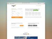 Metasearch Landing page
