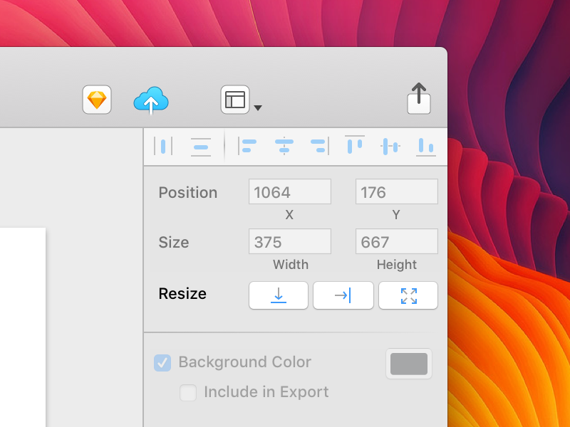 Sketch Resize to Fit the Width/ Height free freebie download osx os mac request ui fit resize sketch
