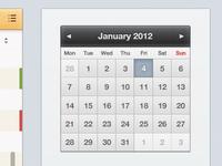 Due Task Calendar
