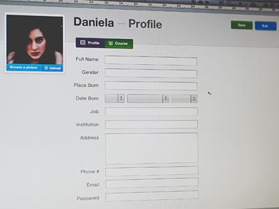 Profile edit