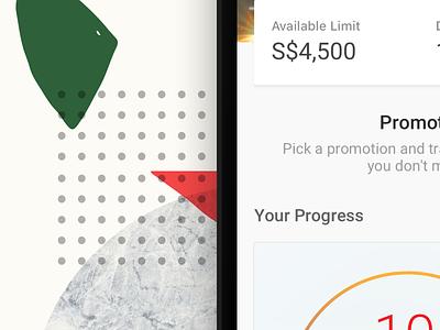 Available Limit design dbs studycase presentation ux ui card app sketch