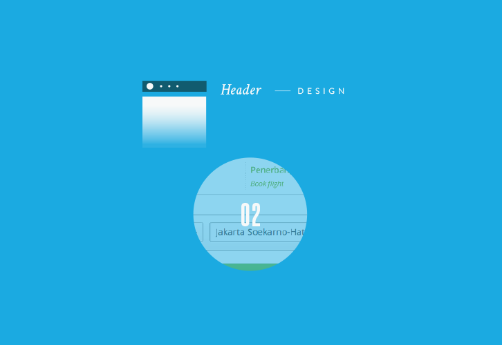 Header design big