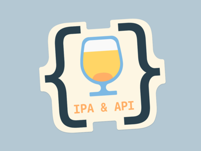 Ipa & Api Sticker