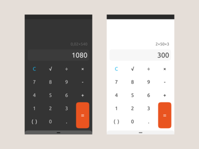 ubuntu calculator mobile design ux ui appdesign app calculator ubuntu