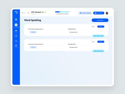 BOTTER | Enterprise Chatbot Builder AI-based ai bot app startup web modern dashboard ui dashboard business design ui ux