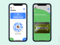 Q-Pay app KSA , send, receive money anytime